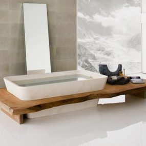 Designer Bathroom Suites in Wood – Vitality by Neutra