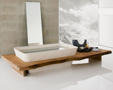 Designer Bathroom Suites In Wood Vitality By Neutra - Designer bathroom suites