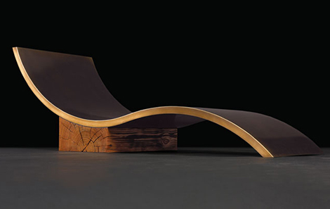 Unique Designer Chaise Lounge - custom chaise lounges by John Houshmand