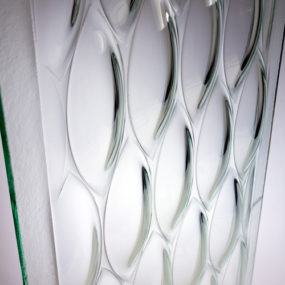 Designer Glass Panels by Joel Berman Glass Studio – Ellise