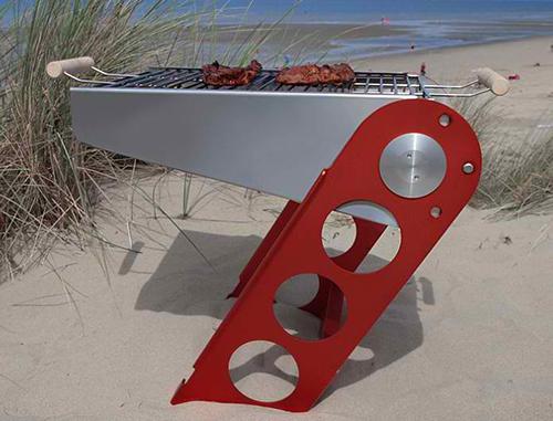 designer portable grill bbq seven reizform 1 Designer Portable Grill by Reizform