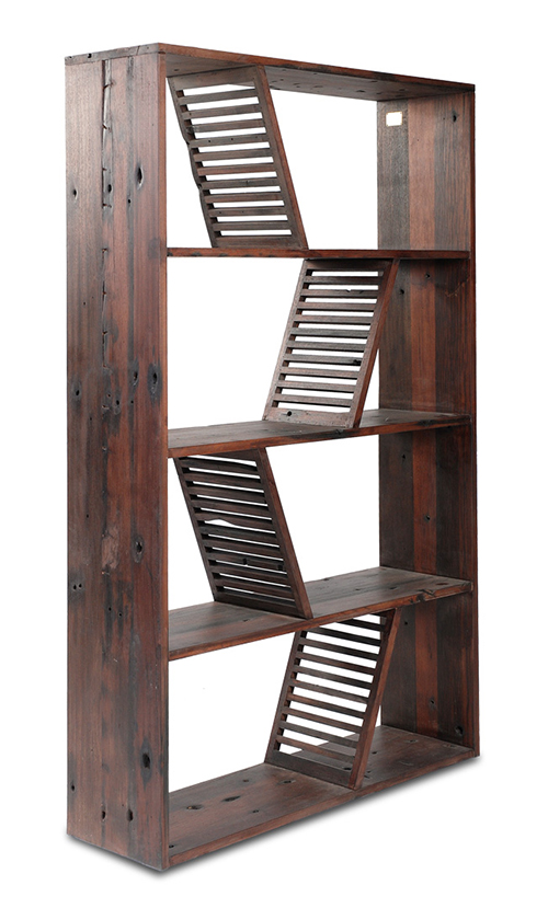 Designer Reclaimed Wood Bookcase Shipwood Dark Fashion For Home 1 Designer  Reclaimed Wood Bookcase Shipwood Dark