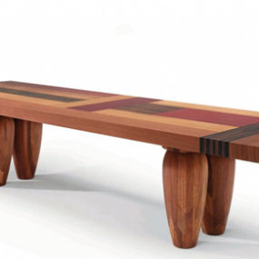 Designer Wood Tables – multi-wood dining tables by Linteloo