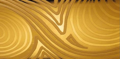 designetalestudioparetigold Luxury Tiles by DesignTaleStudio   24 karat Gold & Platinum tiles