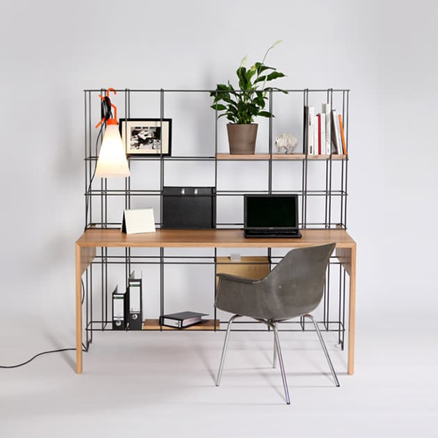 desk shelves combo by gompf and kehrer 1 Desk Shelves Combo by Gompf and Kehrer