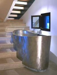 Japanese Soaking Bath from Diamond Spas – Small and Deep Luxury