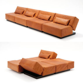Modern Convertible Sofa from Die Collection – Tema, the possibilities are endless …