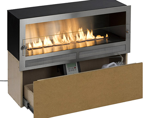 Digifire Architectural Fireplaces No Chimney Ribbon Fire 5.