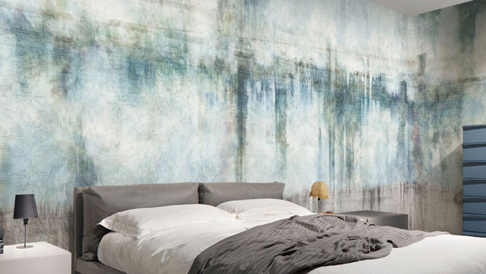 View In Gallery Digital Vinyl Wall Coverings For Interior Decoration From