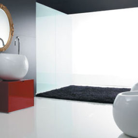 Modern Bathroom Ceramics from Disegno Ceramica – the Sfera