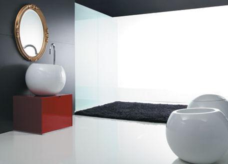 disegno ceramica bathroom Modern Bathroom Ceramics from Disegno Ceramica   the Sfera