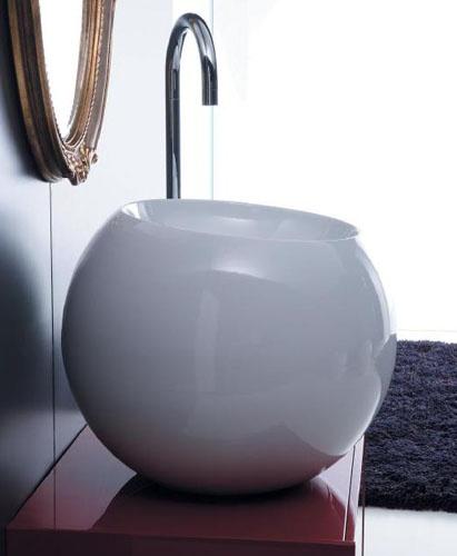 disegno ceramica sfera vessel Modern Bathroom Ceramics from Disegno Ceramica   the Sfera