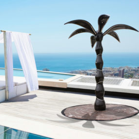 Folding Outdoor Shower by Dometti