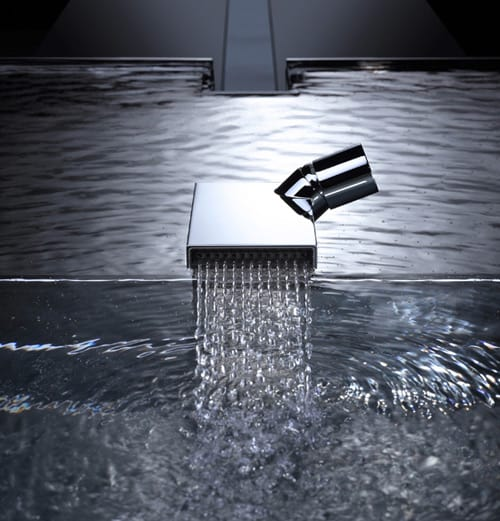 dornbracht deque faucet unusual modernist design. Black Bedroom Furniture Sets. Home Design Ideas