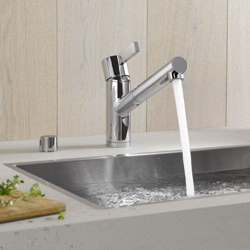 Dornbracht Eno Single Lever Kitchen Faucet Extensible Spray