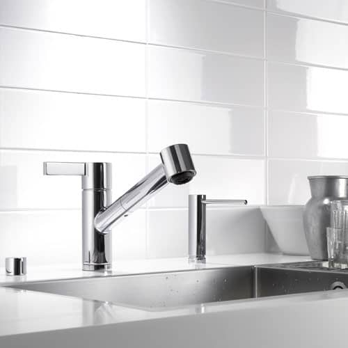 Amazing Dornbracht Eno Single Lever Kitchen Faucet Extensible Spray