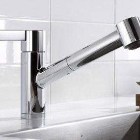 Dornbracht Eno – new stylish kitchen faucet w/ extensible spray