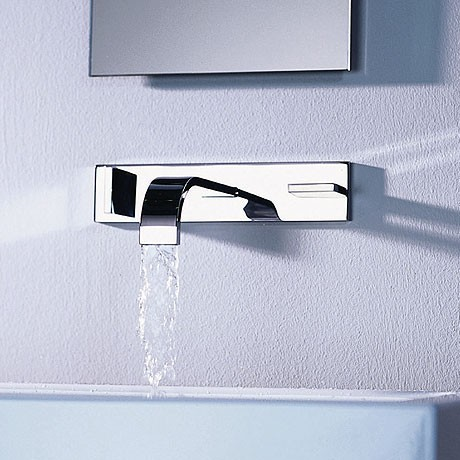 Dornbracht Mem Wall Mounted Tub Filler Jpg Dornbracht S Sleek Mem Faucet A  Flat Spout Fancy