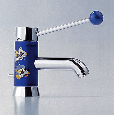 dornbracht meta pur meta for kids bathroom faucet Meta Pur / Meta for Kids faucet from Dornbracht   a contemporary kids bathroom faucet