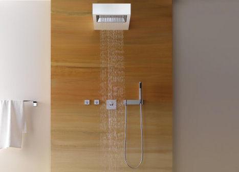 dornbracht sangha shower Dornbracht Sangha Shower   the new wall mounted shower