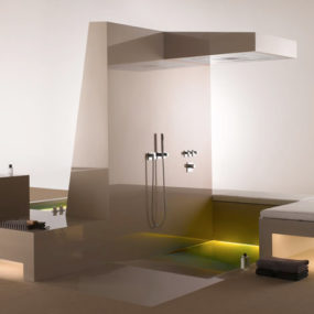 Luxury Bathroom Fittings – Supernova fittings line by Dornbracht