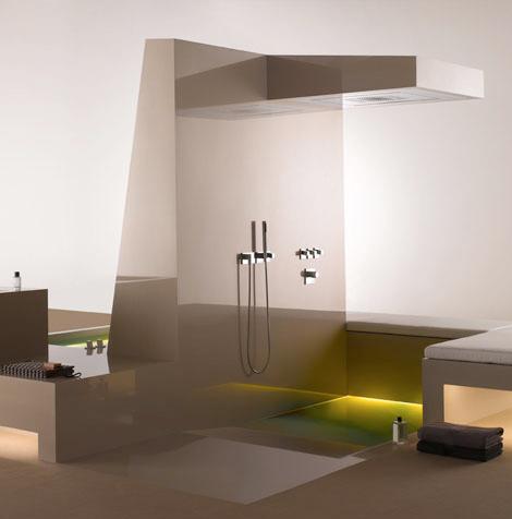 dornbracht supernova island 4 Luxury Bathroom Fittings   Supernova fittings line by Dornbracht