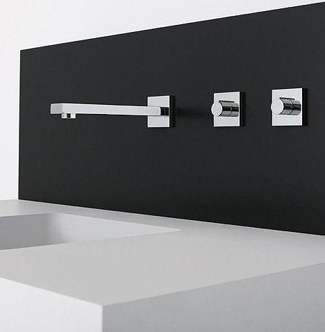 dornbracht symetrics wall mount bathroom faucet Dornbracht Symetrics   new modular bathroom faucets system
