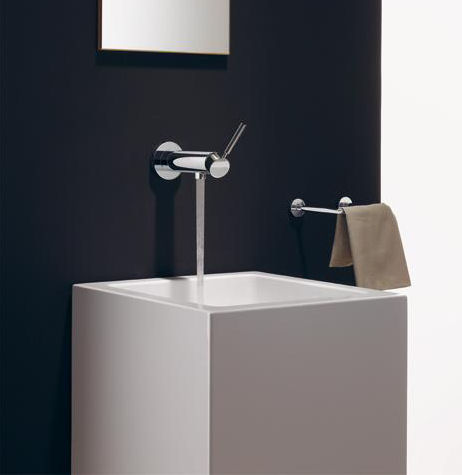 Dornbracht TARA .LOGIC wall-mounted single-lever basin faucet