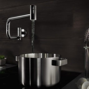 Modern Pot Filler – new wall mounted Ultra by Dornbracht