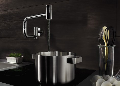 Modern Pot Filler New Wall Mounted Ultra By Dornbracht