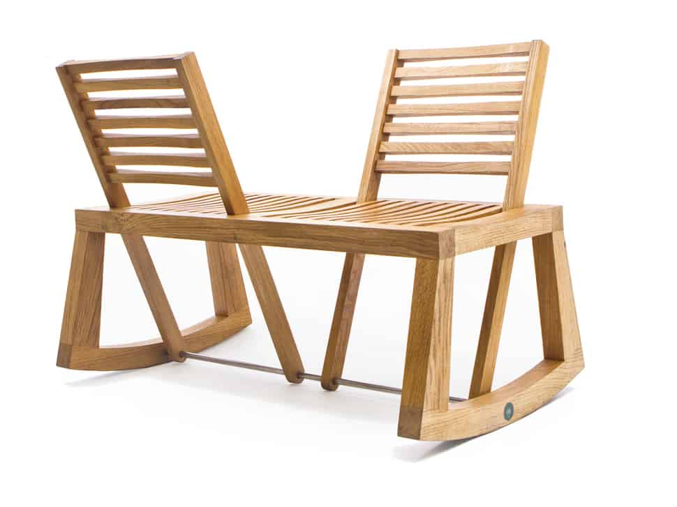 Double View Bench With Pivoting Backrest From Outdoorz Gallery