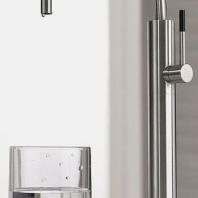 Drinking Water Faucet in Stainless Steel by Justime