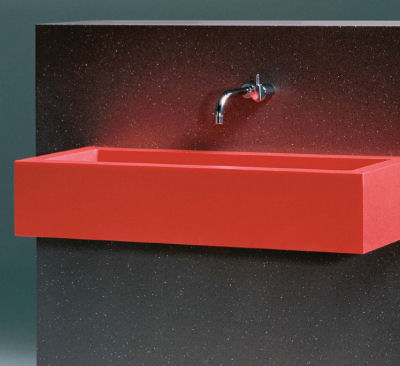 durat recycled plastic basin Durat recycled plastic solid surface material by Tonester   100% recyclable surfacing
