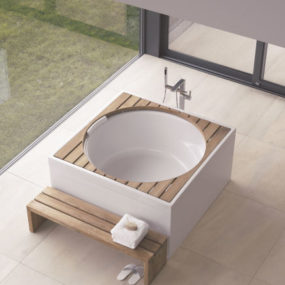 Duravit Blue Moon Whirlpool Tub – the new round tub