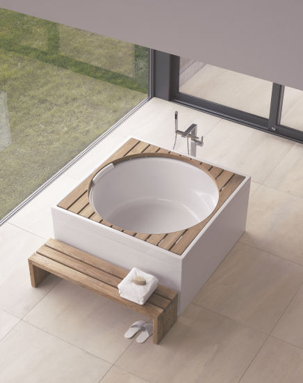 duravit blue moon whirlpool tub Duravit Blue Moon Whirlpool Tub   the new round tub