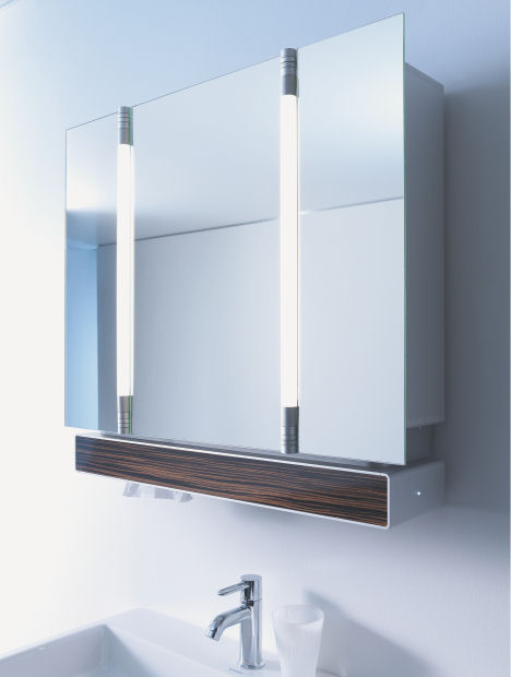 Duravit E Mood Furniture Mirror Cabinet Duravit E Mood Bathroom Furniture  The Programmable Mood Furniture