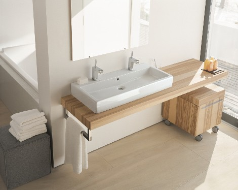 duravit fogo furniture 2 Modern Bathroom Furniture from Duravit   new Fogo range in Ash Olive wood