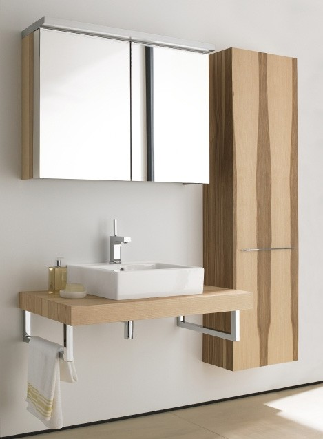Duravit Fogo Furniture Modern Bathroom From New Range In Ash Olive Wood