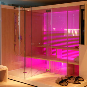 Duravit Inipi Sauna – new modern designer sauna with shower
