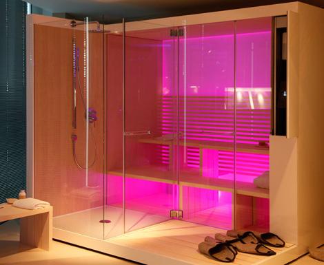 duravit inipi 2 Duravit Inipi Sauna   new modern designer sauna with shower