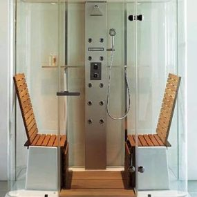 Duravit multi-function shower by Jochen Schmiddem – the Steam Shower cabin