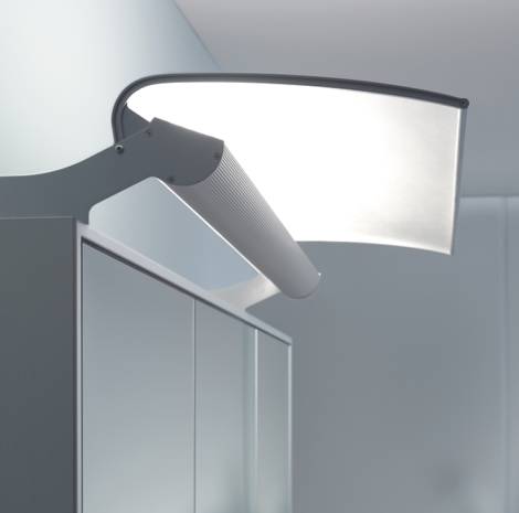 Duravit Mirrorwall system - optional LED lighting