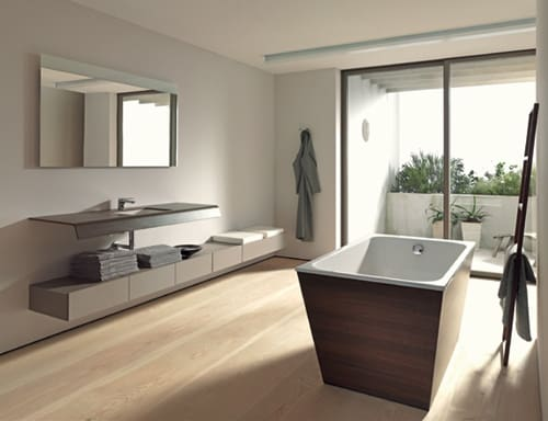 duravit onto bathroom collection 1 Economic Bathroom Design by Duravit – Onto by Matteo Thun