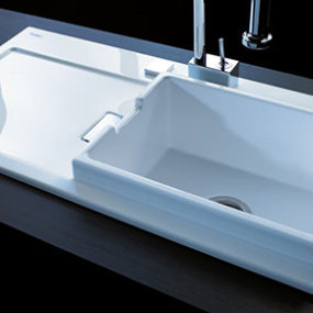 Duravit Starck K Kitchen Sink – new sink by Philippe Starck
