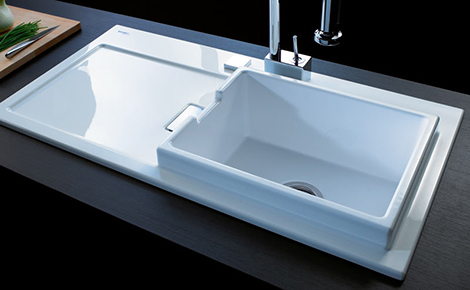 Duravit starck k kitchen sink new sink by philippe starck duravit starck k sink duravit starck k kitchen sink new sink by philippe starck workwithnaturefo