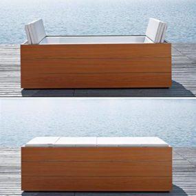 Duravit Sundeck tub – an indoor-outdoor bathtub with a twist