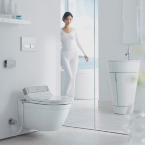Heated Toilet Seat / Bidet Combo by Philippe Starck – new SensoWash by Duravit