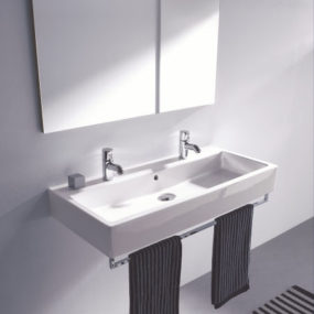 Duravit Vero washbasin – classic rectangular washbasin in 3 new sizes