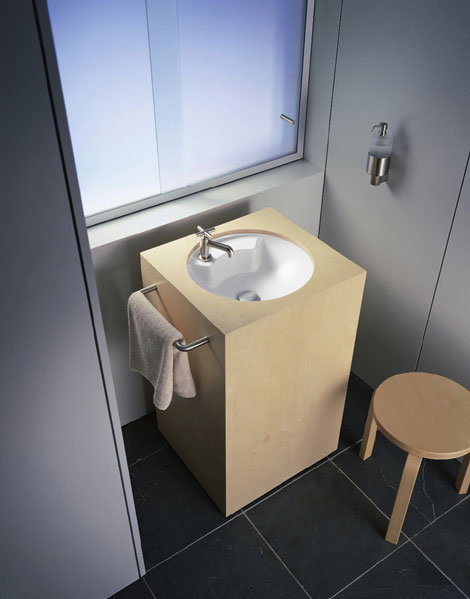Duravit Washbasin Architec Architec Washbasin By Duravit The Small Bathroom  Solution