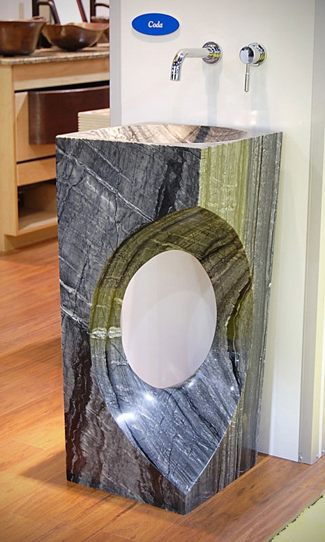 Wonderful Natural Stone Pedestal Sinks U2013 Pedestal Sink Photos From Du0027Vontz